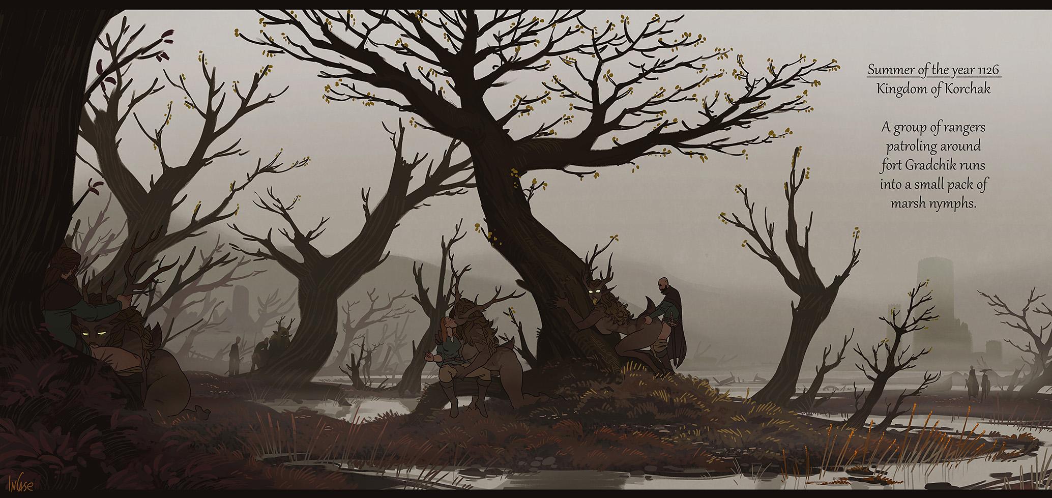 Landscapes: Korchak Marshes